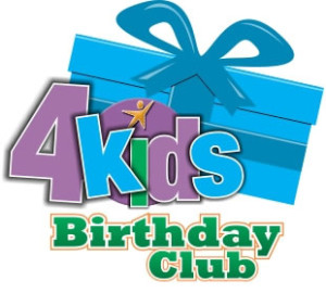 4kids Giving Logo - Birthday