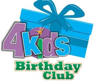 4kids Giving Logo - Birthday