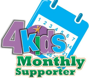 4kids Giving Logo - Monthly