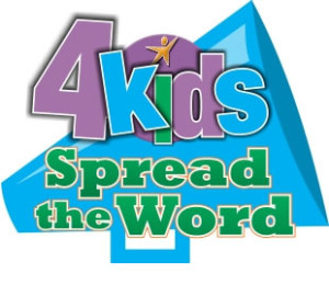 4kids Giving Logo - SpreadtheWord