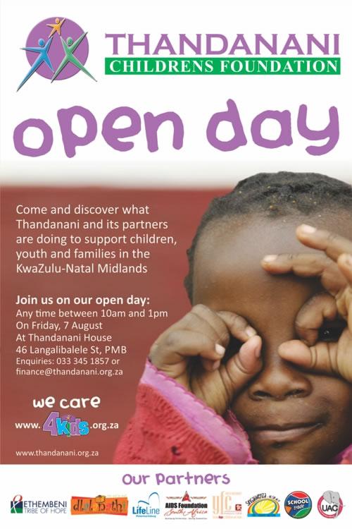 Open Day Invite